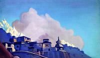 Н.К.Рерих.Твердыня Тибета (2). 1932
