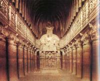Чайтья (храм). Аджанта, Индия. V в.
