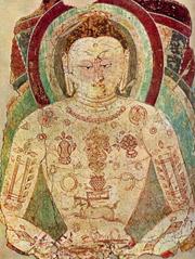 Будда в медитации. Хотан. VI век