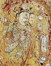 Тантрическое божество. Хотан. VII век