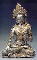 Белая Тара. Тибет, XVIII век.