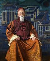 С.Н.Рерих. Портрет Н.К. Рериха, 1942 г.