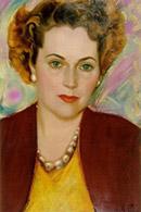 Рерих С.Н.: Портрет Кэтрин Кэмпбелл. 1950.