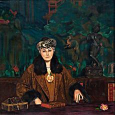 С.Н.Рерих. Портрет Е.И. Рерих, 1937г.