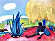 Рерих С.Н.: Священная флейта IV. 1968. Государственный музей искусства народов Востока. Россия. Москва