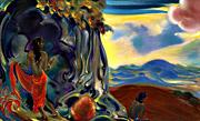 Рерих С.Н.: Зов (Священная флейта II). 1955