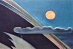 С.Н.Рерих. Поднималась луна. 1961
