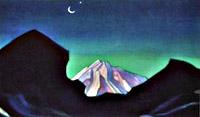 С.Н. Рерих. Гималаи. 1974