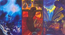 С.Н.Рерих. Распятое человечество (триптих). 1939-1942гг.