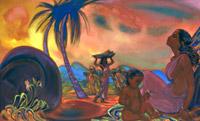 С.Н.Рерих. Вечная жизнь. 1954