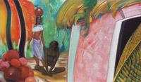 С.Н.Рерих. Глина приобретает форму (Дом гончара). 1964