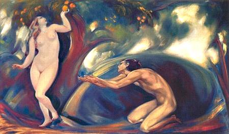 С.Н.Рерих. Вечный зов (Сад Эдема). 1944