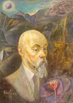 Д.Д.Бурлюк. Портрет Н.К.Рериха.1929