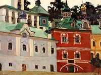 Н.К.Рерих. Печоры. Внутренний двор.1903