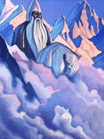 Н.К.Рерих. Святогор .1938