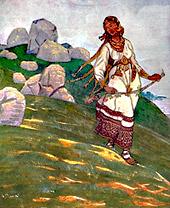 Н.К.Рерих. За морями земли великия (2) .1910