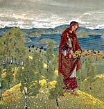 Н.К.Рерих. Ункрада (Эскиз). 1909