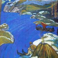 Н.К.Рерих. Варяжский путь. 1907