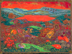 Н.К.Рерих. Сеча при Керженце. 1911