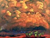Н.К.Рерих. Веления неба. 1915