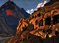 Мощь пещер. 1925