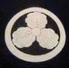 Самурайские гербы на японских кимоно
