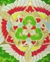 Традиционный  орнамент японского пояса