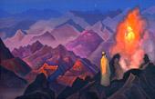 Пророк (Магомет на горе Хира). 1938.