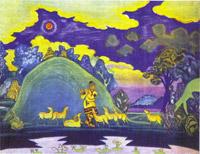 Кришна-Лель (Эскиз). 1935-1936.