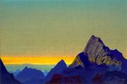 Н.К.Рерих. Гималайское утро.1937