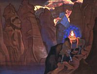 Н.К.Рерих. Сокровище мира – Чинтамани. 1924