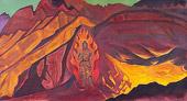 Н.К.Рерих. Хранитель входа. 1927