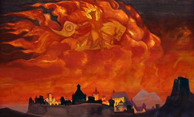 Н.К.Рерих. София-Премудрость. 1932