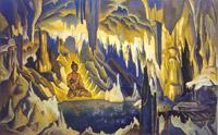 Н.К.Рерих. Будда-победитель. 1925