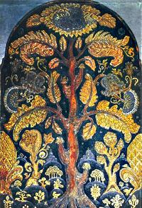 Н.К.Рерих. Эскиз мозаики к памятнику А.И.Куинджи. 1913