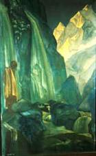 Н.К.Рерих. Сантана. 1928