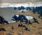 Н.К.Рерих. Древняя жизнь (этюд для картины).1904