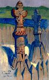 Н.К.Рерих. Идолы (3). 1901