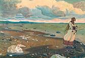 Н.К.Рерих. За морями земли великие (1). 1910