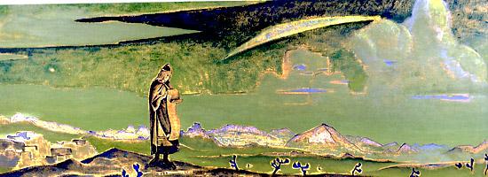 Н.К.Рерих. Легенда. 1923