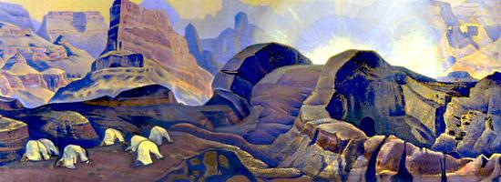 Н.К.Рерих. Чудо.1923