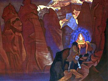 Н.К.Рерих. Сокровище Мира. 1924
