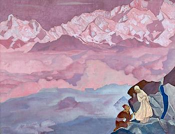 Н.К.Рерих. Ведущая.1924