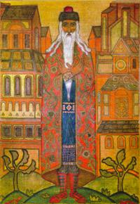 Н.К.Рерих. Хозяин дома. 1914
