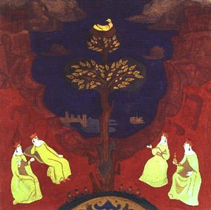 Н.К.Рерих. Дерево преблагое глазам утешение. 1914