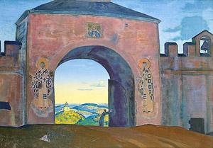 Н.К.Рерих. И Мы открываетм врата.1922