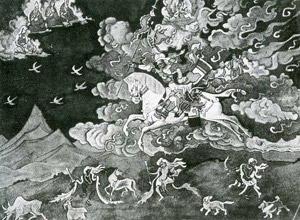 Н.К.Рерих. Шамбала идет. 1925