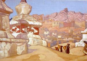 Н.К.рерих. Конь счастья. 1925