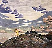 Н.К.Рерих. Знамение.1915г.