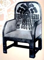 Кресло (Эскиз для мастерских в Талашкине). 1904
